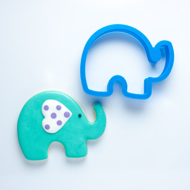 Elephant Cookie Cutter  Baby Shower Cookie Cutters  Animal image 0