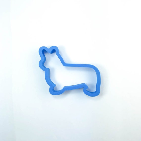 Corgi Cookie Cutter | Dog Cookie Cutter | Doggie Cookie Cutter | Custom Cookie Cutter | Dog Treat Cookie Cutter | Dog Bone