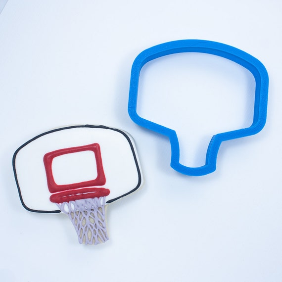 Basketball Hoop Cookie Cutter