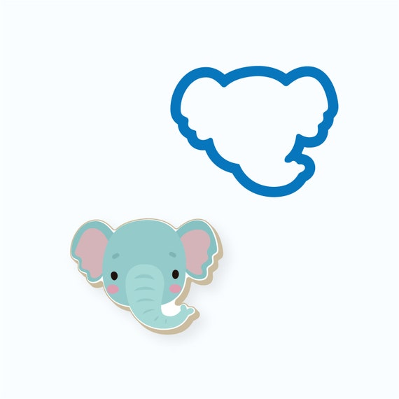 Elephant Cookie Cutter | Animal Cookie Cutter | Baby Shower Cookie Cutter | Birthday Cookie Cutter | Kids Cookie Cutters | FrostedCo