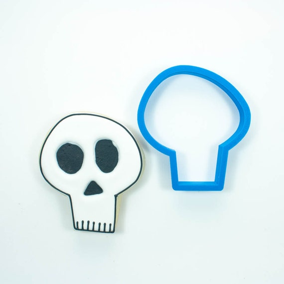 Whimsy Skull Cookie Cutter