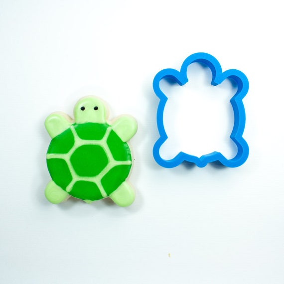 Chubby Sea Turtle Cookie Cutter | Turtle Cookie Cutter | Custom Cookie Cutters | Unique Cookie Cutter | 3D Cookie Cutters | Mini Cutters