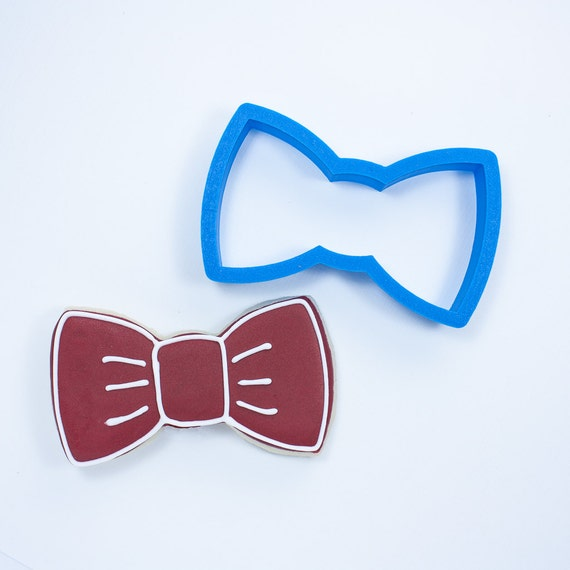 Bow Tie Cookie Cutter | Baby Shower Cookie Cutters | Bow Tie and Mustache Cookie Cutters | 3D Cookie Cutters | Mini Cookie Cutters