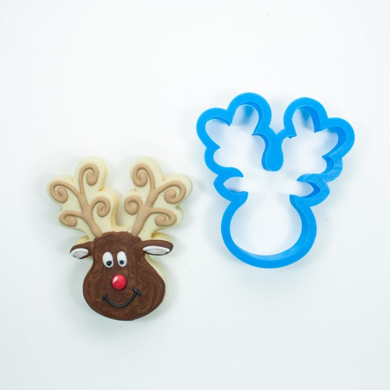Reindeer Head Cookie Cutter
