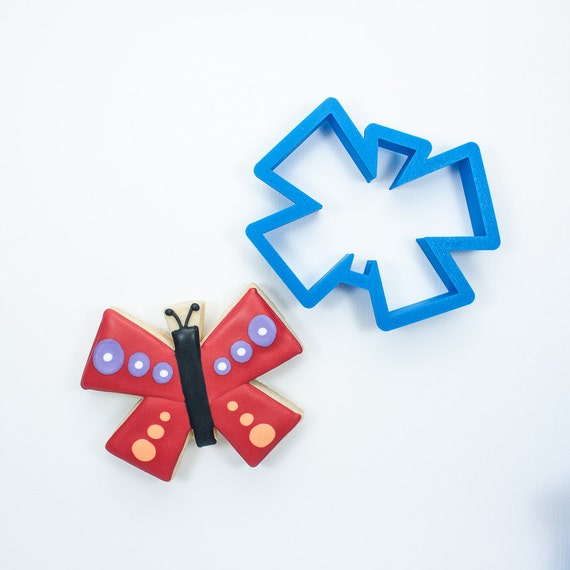 Modern Butterfly Cookie Cutter | Spring Cookie Cutters | Mini Cookie Cutters | Easter Cookie Cutters | Custom Cookie Cutters