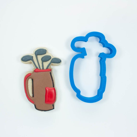 Golf Clubs Cookie Cutter