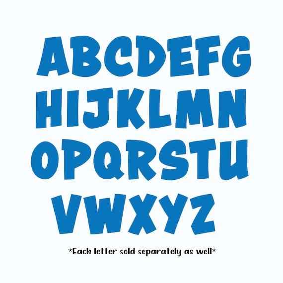 Letter Cookie Cutter, Alphabet Cookie Cutter, Upper Case Letter Cookie Cutters, Letter Cookie Cutter Set, Alphabet Cutter Set