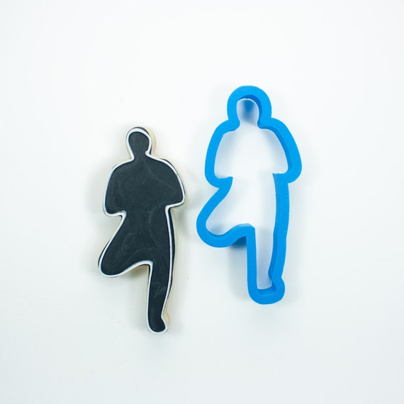 Yoga Tree Pose Cookie Cutter