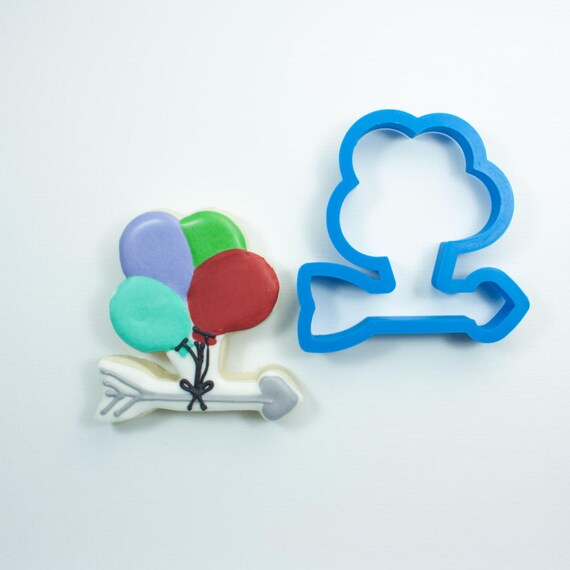 Arrow with Balloons Cookie Cutter