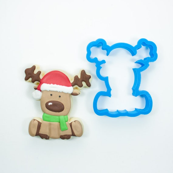 Chubby Reindeer Cookie Cutter