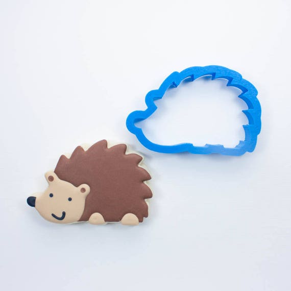 Woodland Hedgehog Cookie Cutter | Animal Cookie Cutters | Mini Cookie Cutters | Small Cookie Cutters | Unique Cookie Cutters
