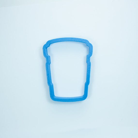 Chubby Latte Coffee Cup Cookie Cutter