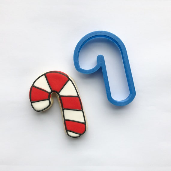 Chubby Candy Cane Cookie Cutter