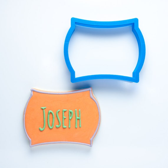 The Joseph Plaque Cookie Cutter