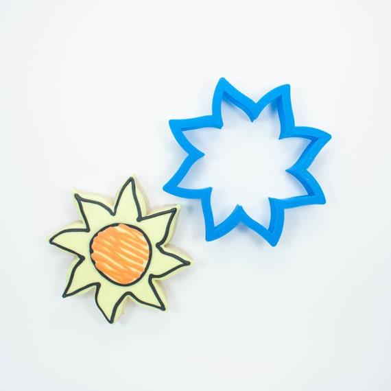 Sun Cookie Cutter