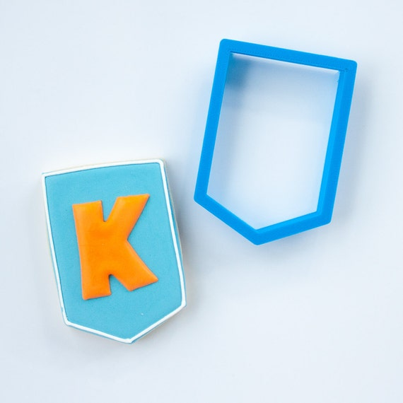 The Kieran Plaque Cookie Cutter