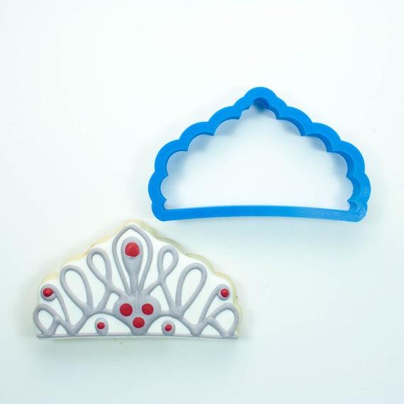 Princess Tiara Cookie Cutter | Princess Crown Cookie Cutter | Crown Cookie Cutter | Princess Cookie Cutter | Mini Crown Cookie Cutter