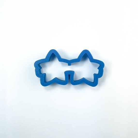 Star Sunglasses Cookie Cutter | Sunglasses Cookie Cutter | Summer Cookie Cutters | Beach Cookie Cutter | Vacation Cutters | Frosted Cutters