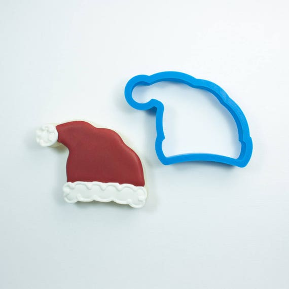 Santa Hat Cookie Cutter | Christmas Cookie Cutter | Santa Cookie Cutter | Hat Cookie Cutter | Winter Hat Cookie Cutter | Frosted.co