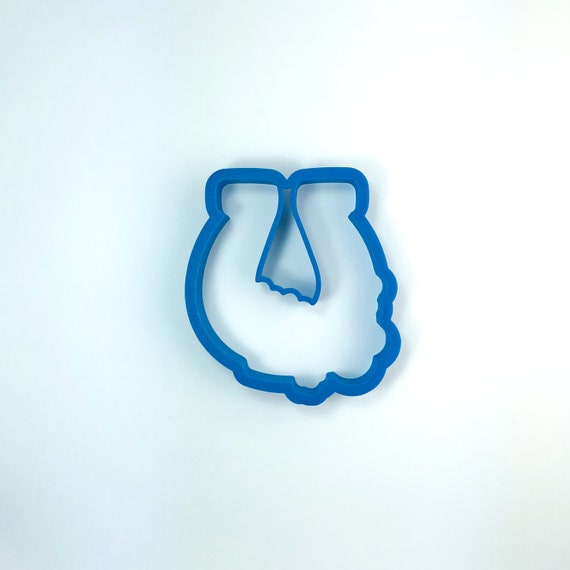 Horseshoe with Flowers Cookie Cutter | St. Patrick's Day Cookie Cutter | Horseshoe Cookies | Horse Cutter | Frosted Cutter