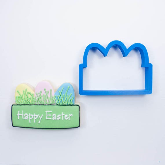 Easter Plaque Cookie Cutter | Easter Bunny Cookie Cutters | Easter Cookie Cutters | Plaque Cookie Cutters | Mini Cookie Cutters