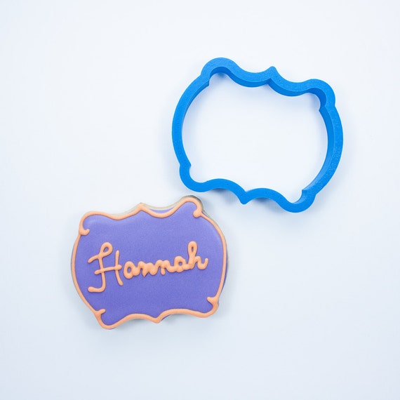 The Hannah Plaque Cookie Cutter
