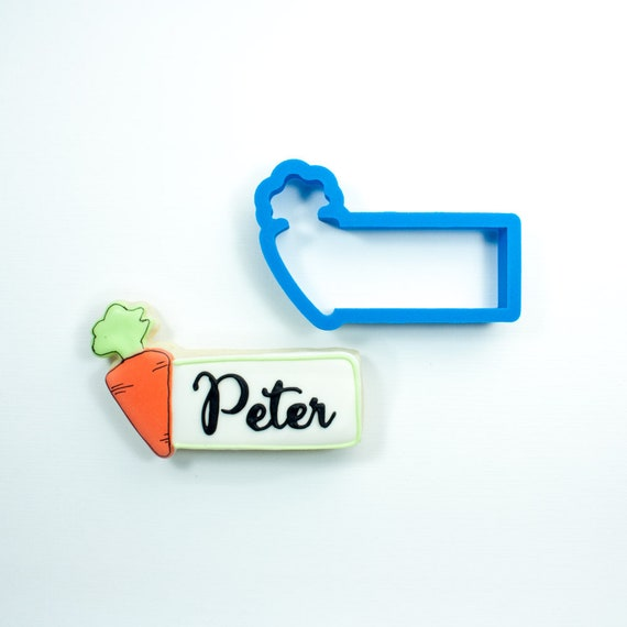 Carrot Cookie Stick Cookie Cutter | Carrot Cookie Cutter | Easter Cookie Cutter | Spring Cookie Cutter | Unique Cookie Cutters