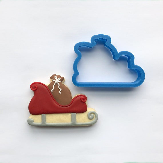 Santa's Sleigh with Toy Sack Cookie Cutter