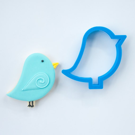 Blue Bird Cookie Cutter | Bird Cookie Cutter | Love Cookie Cutter | Valentine Cookie Cutter | Valentines Cookie Cutter | Heart Cookie Cutter