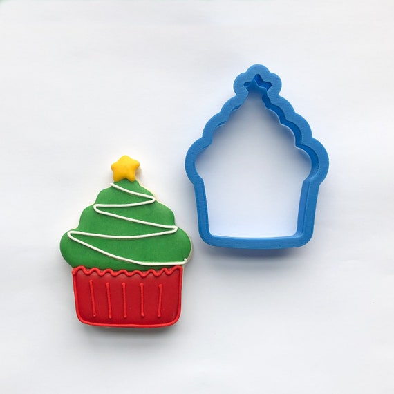 Christmas Tree Cupcake Cookie Cutter