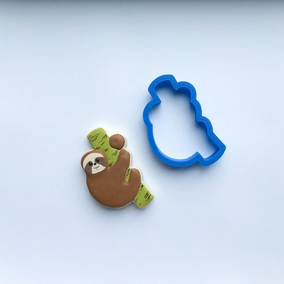 Sloth Cookie Cutter | Animal Cookie Cutters | Unique Cookie Cutters