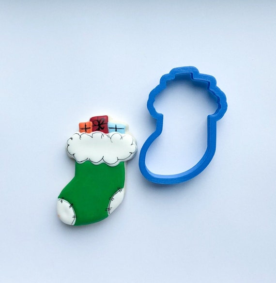 Chubby Christmas Stocking Cookie Cutter