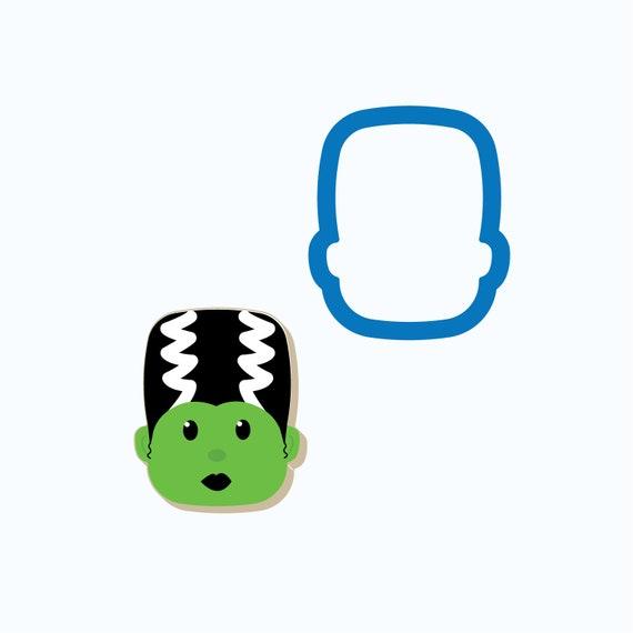 Bride of Frankenstein Head Cookie Cutter