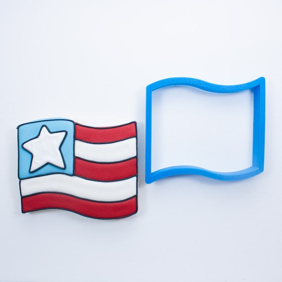 Simple Flag Cookie Cutter
