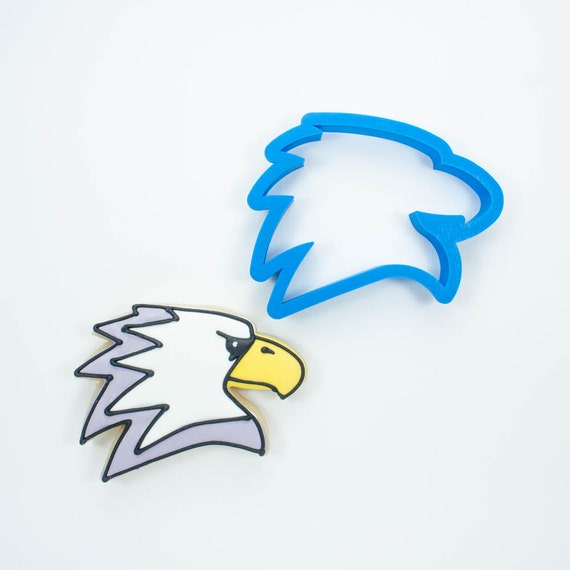 Modern Eagle Cookie Cutter | Eagle Cookie Cutter | Animal Cookie Cutters | Bird Cookie Cutter | Bird Cookie Cutters | 3D Cookie Cutters