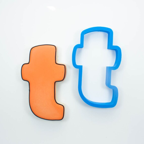 Letter T Cookie Cutter | Alphabet Cookie Cutters | Letter Cookie Cutters | ABC Cookie Cutters | Large Alphabet Cookie Cutters
