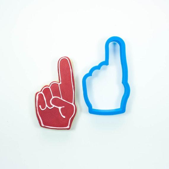 Foam Finger Cookie Cutter