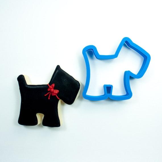 Scottie Dog Cookie Cutter | Scottie Dog Fondant Cutter | Custom Cookie Cutters | Unique Cookie Cutter | 3D Cookie Cutters | Mini Cutters