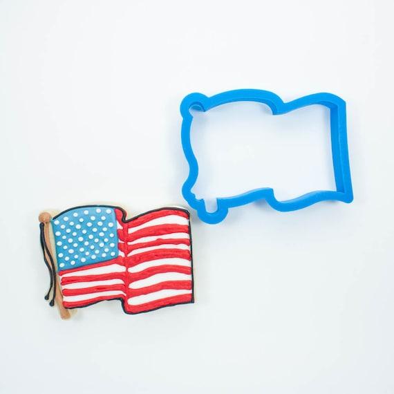 Wavy Flag Cookie Cutter