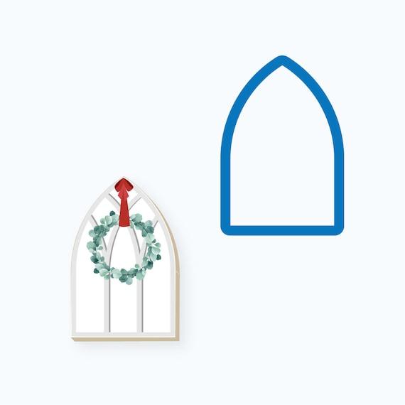 Window Cookie Cutter | Church Window Cookie Cutter | Vintage Window Cookie Cutter | Christmas Cookie Cutter | FrostedCo