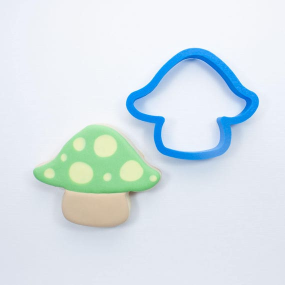 Woodland Mushroom Cookie Cutter | Mini Mushroom Cookie Cutter | Woodland Cookie Cutters | Unique Cookie Cutters