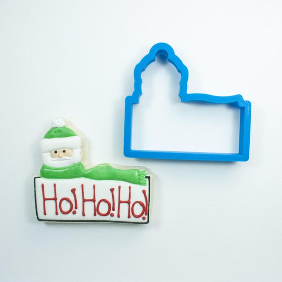 Santa Cookie Stick Cookie Cutter