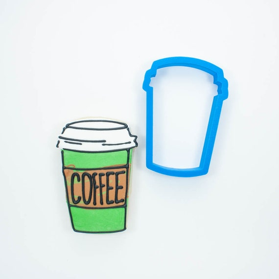 Latte Coffee Cup Cookie Cutter