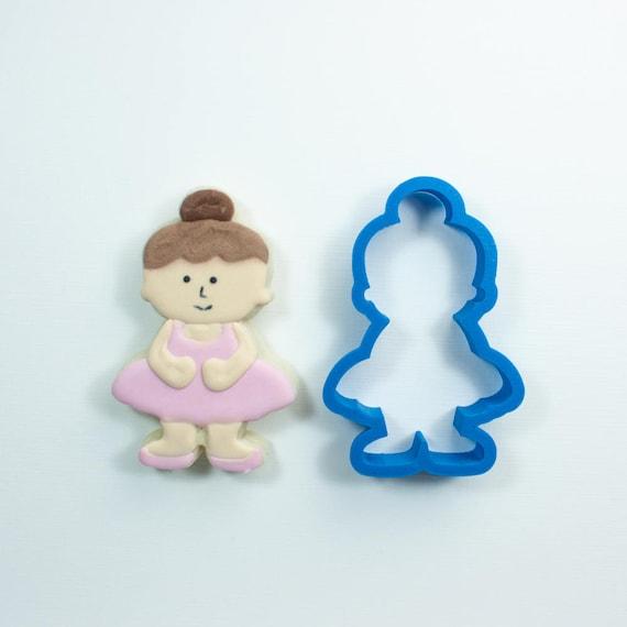 Ballerina Cookie Cutter | Dance Cookie Cutter | Birthday Party Cookie Cutter | Mini Ballerina Cookies | Unique Cookie Cutters