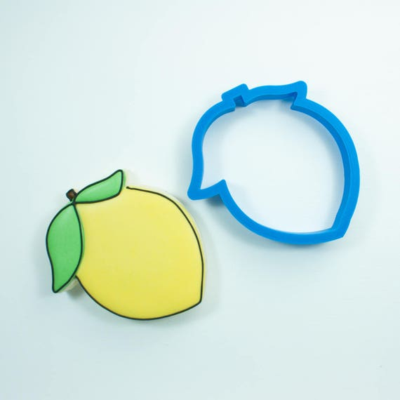 Lemon Emoji Cookie Cutter | Lemon Cookie Cutter | Mini Lemon Cookie Cutter | Lemons Cookie Cutter | Emoji Cookie Cutter