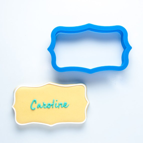 The Caroline Plaque Cookie Cutter
