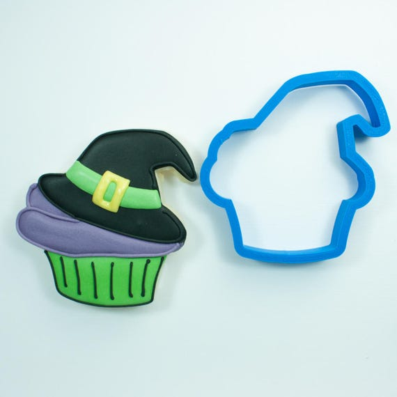 Witch Hat Cupcake Cookie Cutter