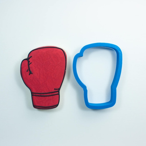 Boxing Glove Cookie Cutter | Boxing Cookie Cutter | Sports Cookie Cutter | Frosted Cookie Cutters