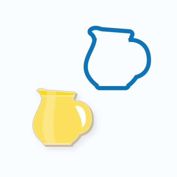 Chubby Pitcher Cookie Cutter