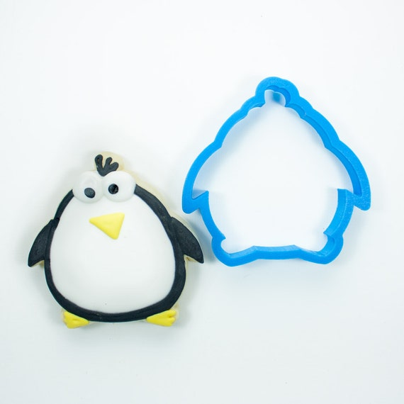 Chubby Penguin Cookie Cutter | Mini Penguin Cookie Cutters | Animal Cookie Cutters | Birthday Cookie Cutters | Custom Cookie Cutters